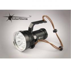 Solarstorm SP03 3 * Cree XM L2 U2 3020LM 4 Mode LED Taschenlampe 4 * 18650
