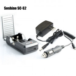 Soshine SC-S2 18650 17670 Lithium Battery Charger 2 Slots