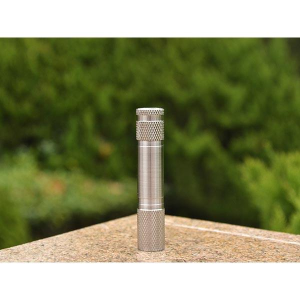 Stainless Steel Cree XP-G2 R51A 5C AAA Mini LED Flashlight Flashlight