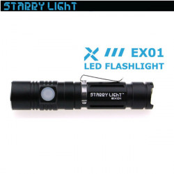 StarryLight EX01 CREE XM-L2 880LM USB Rechargeable LED Flashlight