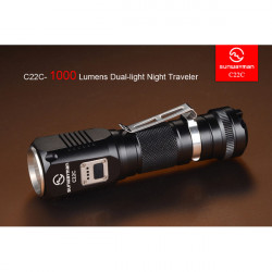 Sunwayman C22C CREE XM-L2 U2 1000LM 6 Models Led Flashlight