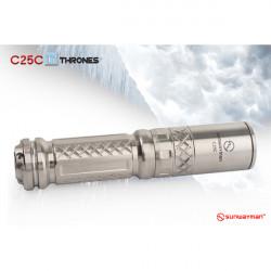Sunwayman C25C Ti Thrones CREE XM-L2 U2 856 Lumens LED Flashlight