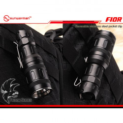 Sunwayman F10R CREE XM-L2 Tricolored Light Source LED Flashlight