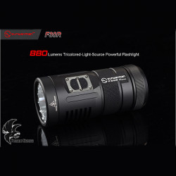 Sunwayman F30R XM-L2 880lm Tricolored-Light-Source Powerful Flashlight