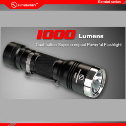 Sunwayman G25C CREE XM-L2 U2 1000lm Dual Button LED Flashlight