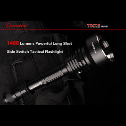 Sunwayman T40CS PLUS CREE MT-G2 1488LM Long Shot Tactical Ficklampa
