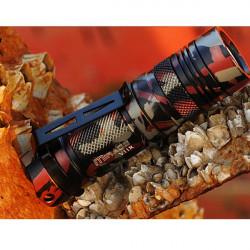 Sunwayman V11R CREE XM-L U3 500lm Tactical LED Ficklampa + Extension