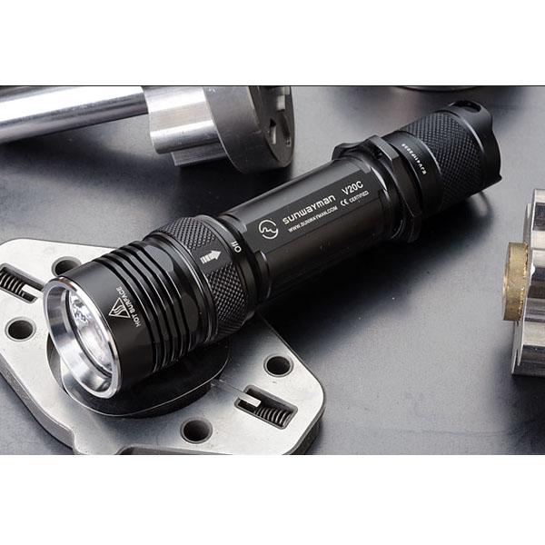 Sunwayman V20C-Y/S CREE XM-L U2 Magnetic Control LED Flashlight Flashlight