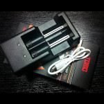 TOMO V6-2 Intelligent USB Charger 1.2V 3.7V For 18650 16340 AA Battery Flashlight