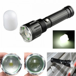 TS60 2000LM 3Modes Zoomable Magnet Stablampe Flashlight