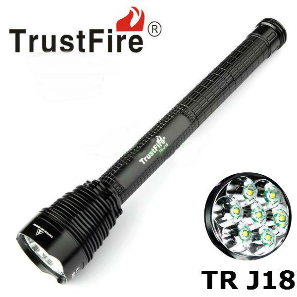 Trust J18 7x CREE XM-L T6 45W 8000Lumens LED Ficklampa Ficklampor