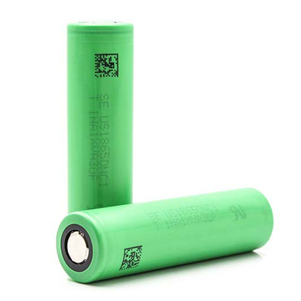 US18650NC1 2900mAh 3.6v 10A Rechargeable Lithium-ion Battery Flashlight