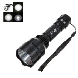 Ultra C8 CREE T6 5 Mode 1300LM LED Ficklampa