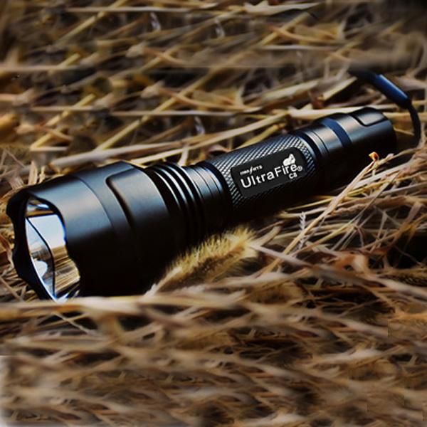 Ultra C8 CREE XM-L2 T6 2000Lm 5 Mode LED Ficklampa Ficklampor