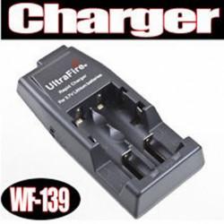 Ultrafire WF-139 3.7V Batteriladdare för 14500/17500/18500/18650