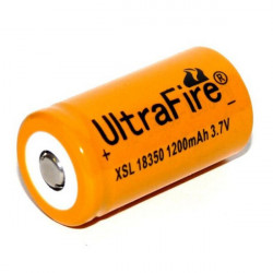 UltraFire XSL 18350 3.7V 1200mAh Li-ion Rechargeable Battery 1PCS