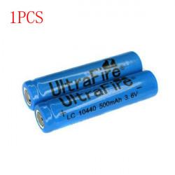 Ultrafire 3.7V 500mAh 10440 Rechargeable Battery 1PCS