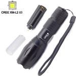 Ultrafire CREE XM-L2 U3 2000LM 5 Modes Zoomable LED Flashlight Flashlight
