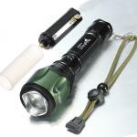 Ultra CREE XM-L T6 2000LM Zoombar LED Ficklampa 18650 Ficklampor