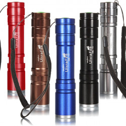 Ultrafire CREE XM-L T6 2000lm 5 Modes Zoomable LED Flashlight