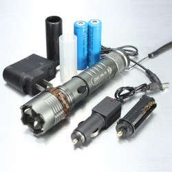 Ultrafire CREE XM-L T6 2000lm Lotus Hoved LED Lommelygte Suit