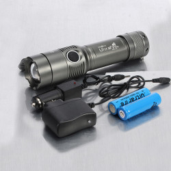 Ultrafire CREE XM L T6 2000lm Zoomable LED Taschenlampe Suit