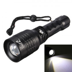 Ultra CREE XM-L T6 2200lm Zoombar 3Modes LED Ficklampa