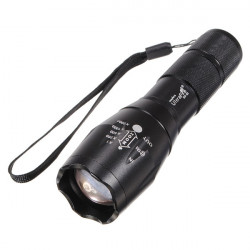 Ultrafire CREE XML T6 1600LM 5 Tilstand Zoomable LED Lommelygte 1x18650