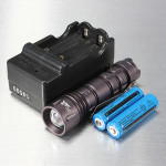 Ultrafire CREE XPE-Q5 3Modes Zoomable Mini LED Flashlight Suit Flashlight