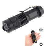 Ultra CREE XPE Q5 7w 3 Mode Zoombar LED Ficklampa Ficklampor