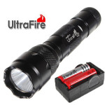 Ultrafire WF-502B CREE XM-L2 1000LM 5modes LED Ficklampa Suit Ficklampor