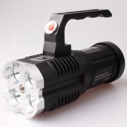 UniqueFire UF-1400 4xCree XM-L2 3500LM LED Flashlight With Handle