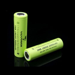 VAPPOWER IMR18650 2000mah 30A 3.7V Li-Ion Rechargeable Battery