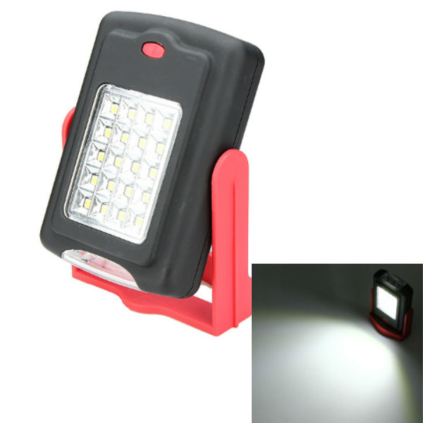 Warsun 21LED +3LED Outdoor Camping Hang Light 3xAAA Flashlight