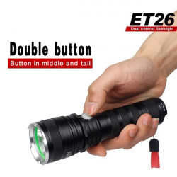Warsun ET26 CREE XM L2 5modes 1198lm Taschenlampe LED 26650