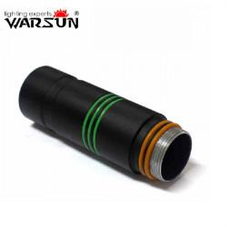 Warsun Umfangreiche Rohr zur FX900 MX900 MX700 Taschenlampe