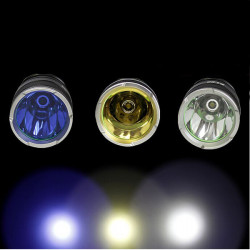 Warsun Flashlight Glass For ET26 LED Flashlight(Blue/White/Yellow)