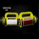 Warsun H003C 15W 500M Uppladdningsbara Sök Handy LED Ficklampa Ficklampor