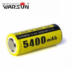 Warsun ICR26650 5400mAh 3,7 V Li on Akku