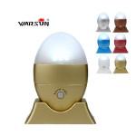 Warsun WS-002 3 LED Auto Motion Sensor Ljus Sex Färger Ficklampor