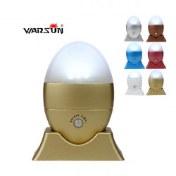 Warsun WS-002 3 LED Auto Motion Sensor Ljus Sex Färger