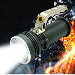 XPG R5 800 Lumen Rechargeable Miner Lamp Flashlight