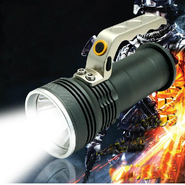 XPG R5 800 Lumen Rechargeable Miner Lamp Flashlight Flashlight