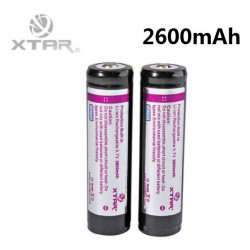 XTAR 2600mAh 3.7v 18650 Protected Rechargeable Lithium Battery
