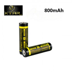 XTAR 800mAh 14500 Protected Rechargeable Lithium Battery