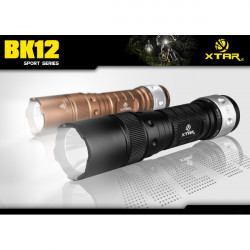 XTAR BK12 CREE XM-L U2 600 Lumens 4-Mode Bike/Bicycle LED Flashlight