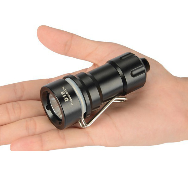 XTAR D18 Cree XM-L2 U2 300 Lumen 100M Mini Dykning LED Ficklampa Ficklampor