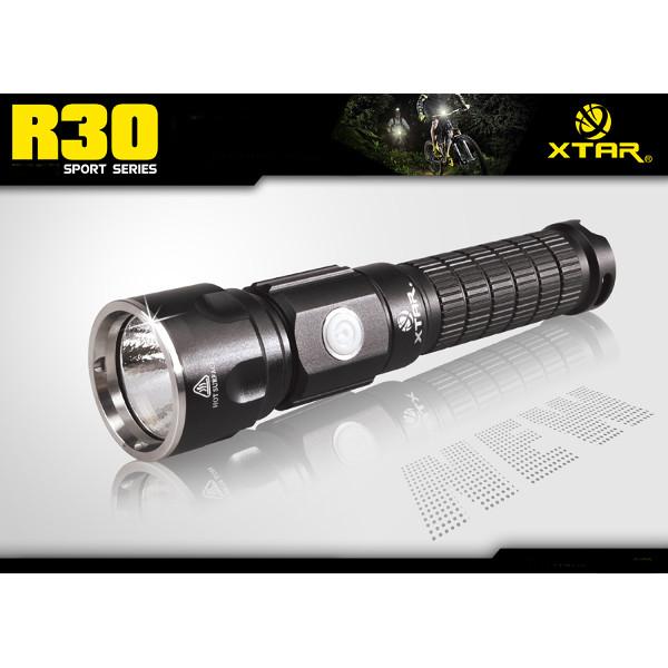 XTAR R30 CREE XM-L2 U2 1000LM 6 Modes Rechargeable LED Flashlight Flashlight