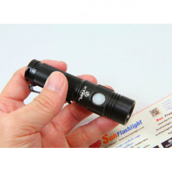 XTAR WK41 Sirius AA CREE XM-L U2 300LM 7-Mode EDC LED Ficklampa