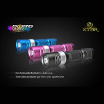 XTAR WK50 CREE XP-G R5 150 Lumen Mini LED Ficklampa AA Ficklampor